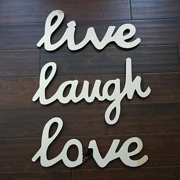 Accents Live Love Laugh Wall Decor Poshmark